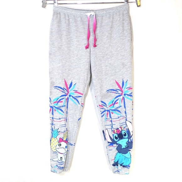 e14e3d7284 Disney Other - Disney Lilo and Stitch Joggers Pajama Pants L